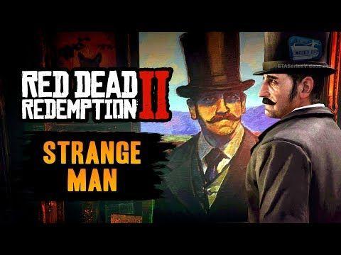 Red Dead Redemption 2 Easter Egg The Strange Man Youtube Avec