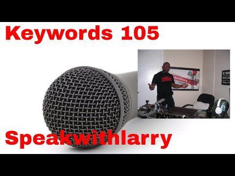 Speakwithlarrys Video-Podcast – Keywords 105– Guten Morgen, gute Leute, ich …