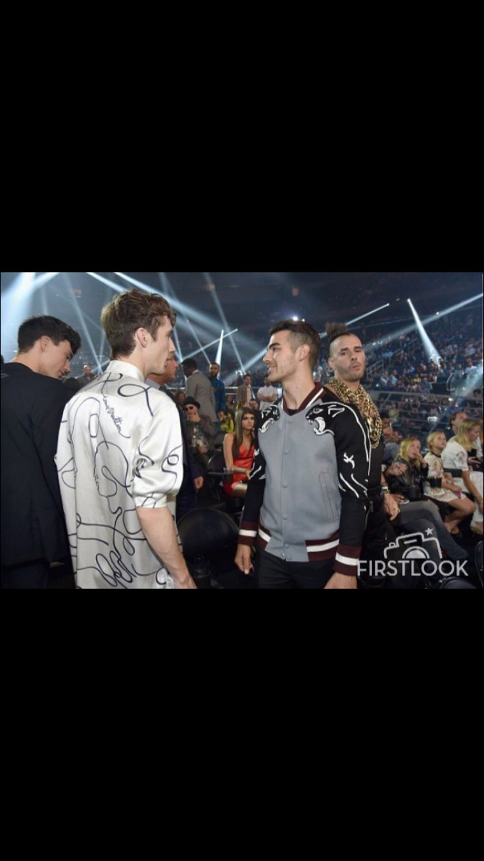 Troye meeting Joe Jonas