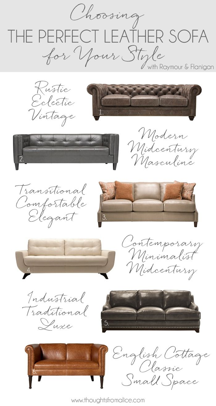 Choosing The Perfect Leather Sofa {and A Date Night At Raymour U0026 Flanigan}.  Bohemian Living RoomsLiving Room ...