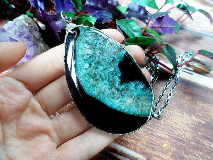 Agate stone.
