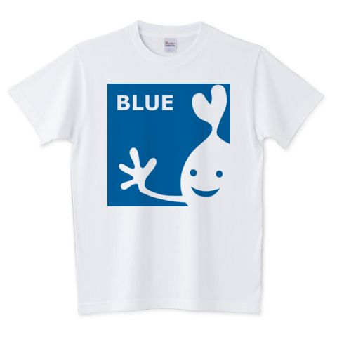 BLUE | デザインTシャツ通販 T-SHIRTS TRINITY(Tシャツトリニティ)