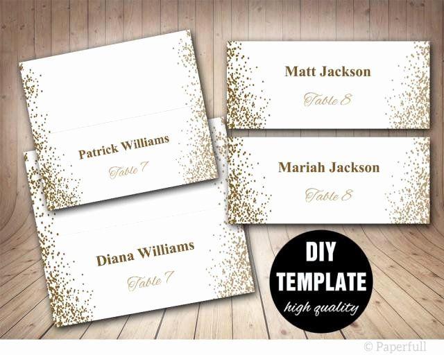 Wallet Card Template Word Best Of Printable Placecards Place Cards Wedding Gol Wedding Place Card Templates Printable Place Cards Printable Place Cards Wedding