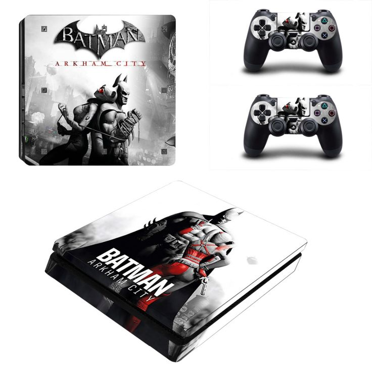 >> Click to Buy << DC Batman Arkham City PS4 Slim Skin Sticker Decal For Sony PS4 PlayStation 4 Slim Console and 2 Controllers Stickers #Affiliate