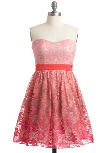 Love this...If it was floor lenght.: Summer Dress, Color, Gorgeous, Valentines Day, Cute Bridesmaid Dresses