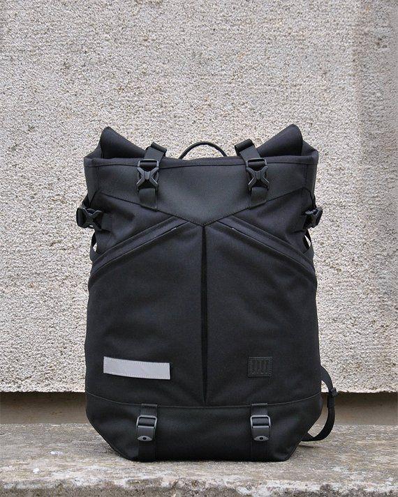 Rolltop Backpack Cycling Backpack Commuter Backpack Men  bdc116b7652c9