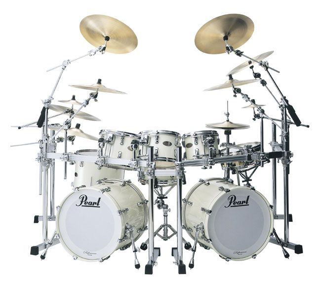 famous+pearl+drum+kits | Pearl Drum Set - Pearl Reference Series Drum Set
