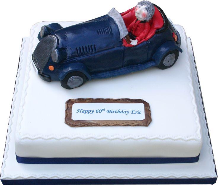 Morgan Car Birthday Cake Image Inspiration of Cake and Birthday