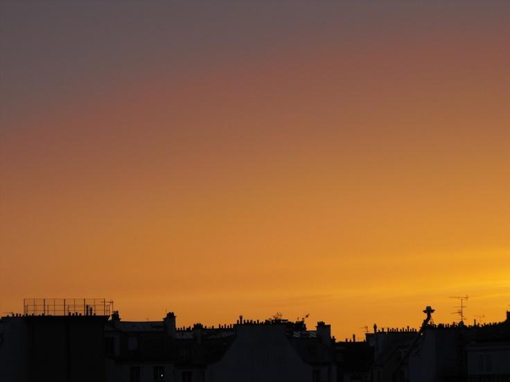 Rooftops in Paris. Photo by Stephanie Adams-Jacobson.