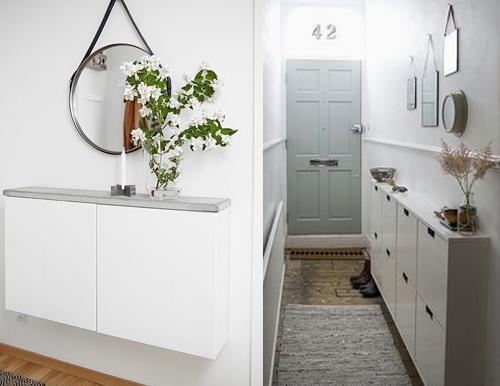 25 beste idee n over smalle gang decoratie op pinterest smalle ingang smalle gangen en hal - Decoratie corridor ...