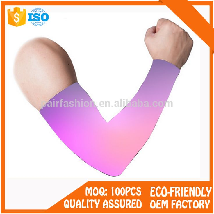 Competitive Price Compression nylon Arm Sleeve, Cycling Elbow Protect Sleeve elbow support