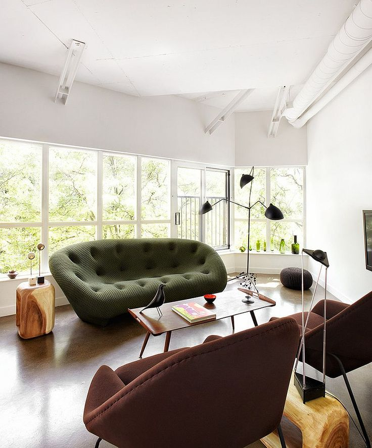 Gorgeous Ploum Sofa In Green Steals The Show