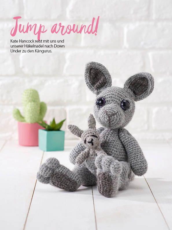 Häkelmagazin Simply Häkeln Amigurumi Känguru 0417