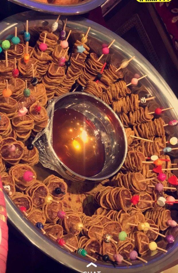 شعبيات Food Decoration Event Food Eid Food