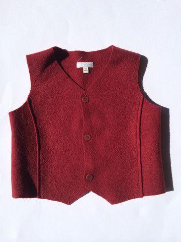 GILET LANA COTTA BORDEAUX Online qui: http://hipmums.it/collections/bambino/products/gilet-lana-cotta-bordeaux