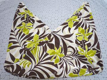ハワイ柄のあずま袋です。かごバッグやファスナーや留めのないバッグのインナーバッグにして頂くと中身の目隠しにもなり安心してお使い頂けると思います。【素材】綿&t...|ハンドメイド、手作り、手仕事品の通販・販売・購入ならCreema。