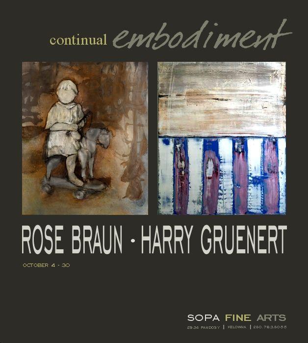 Joint Exhibition - Rose Braun + Harry Gruenert