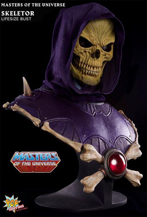 Esqueleto Mestres do Universo – Busto em Tamanho Real 1:1 - CARAI!!!!