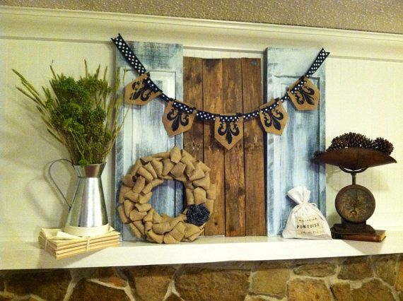 How I Create a Fourth of July Mantel Time Lapse Step By