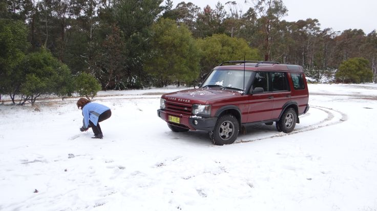 Snow at Jenolan Forest, New South Wales