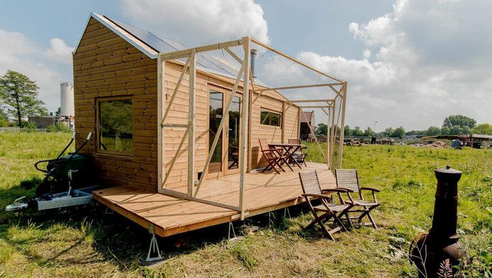 Beste 101 idee n over tiny house movement op pinterest for Tiny house movement nederland