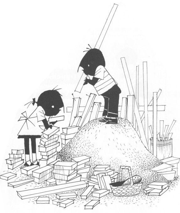 Jip en janneke huis bouwen