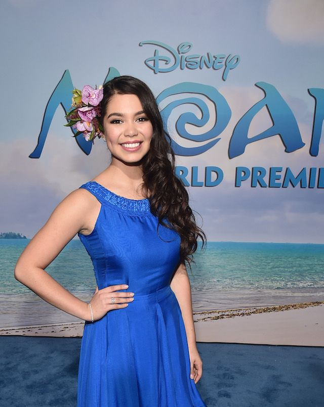 """Behind the Scenes: Designing a red carpet dress for Auli'i Cravalho, Disney's """"Moana"""" #Video #Fashion #DisneyStyle  Read more at: http://www.redcarpetreporttv.com/2016/11/15/behind-the-scenes-designing-a-red-carpet-dress-for-aulii-cravalho-disneys-moana-video-fashion-disneystyle/"""