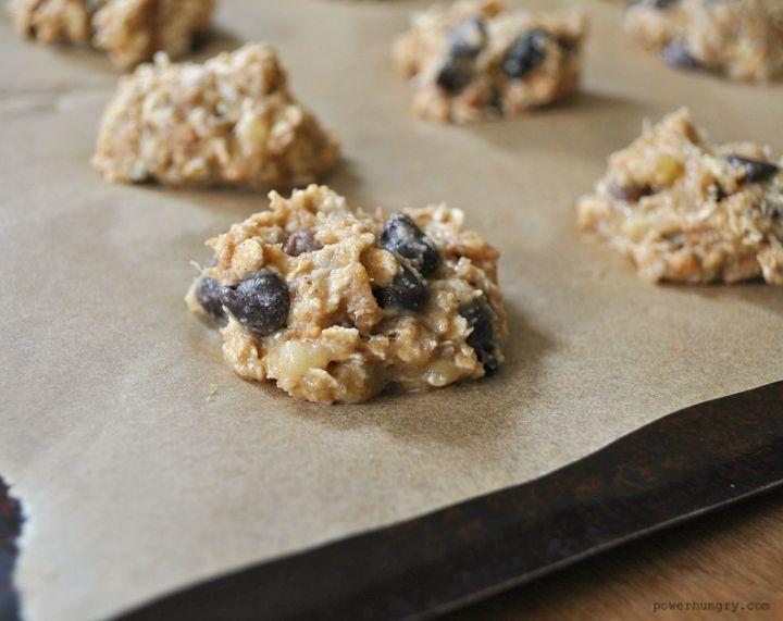 Applesauce Oat Breakfast Cookies Vegan Gluten Free Flourless Recipe Applesauce Cookies Healthy Banana Cookies Healthy Oats Breakfast