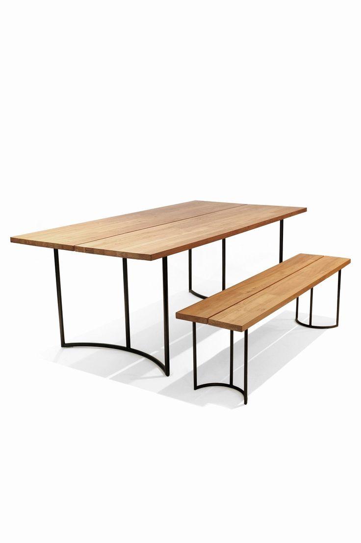 reclaimed teak dining table din pinterest teak. Black Bedroom Furniture Sets. Home Design Ideas