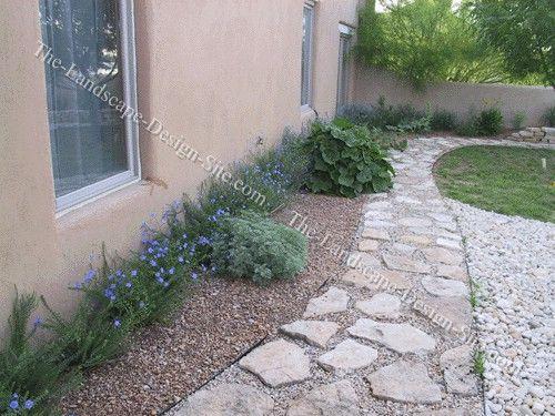 67 best images about southwest landscaping on pinterest for Xeriscape garden design ideas