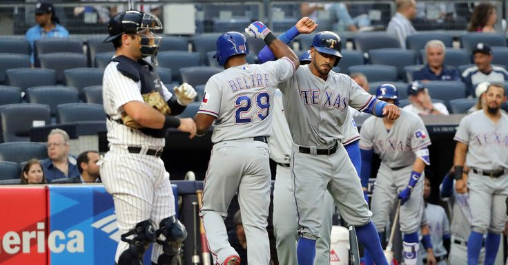 Rangers 7, Yankees 1: Carlos Beltran Is Injured as Rangers Rout Yankees