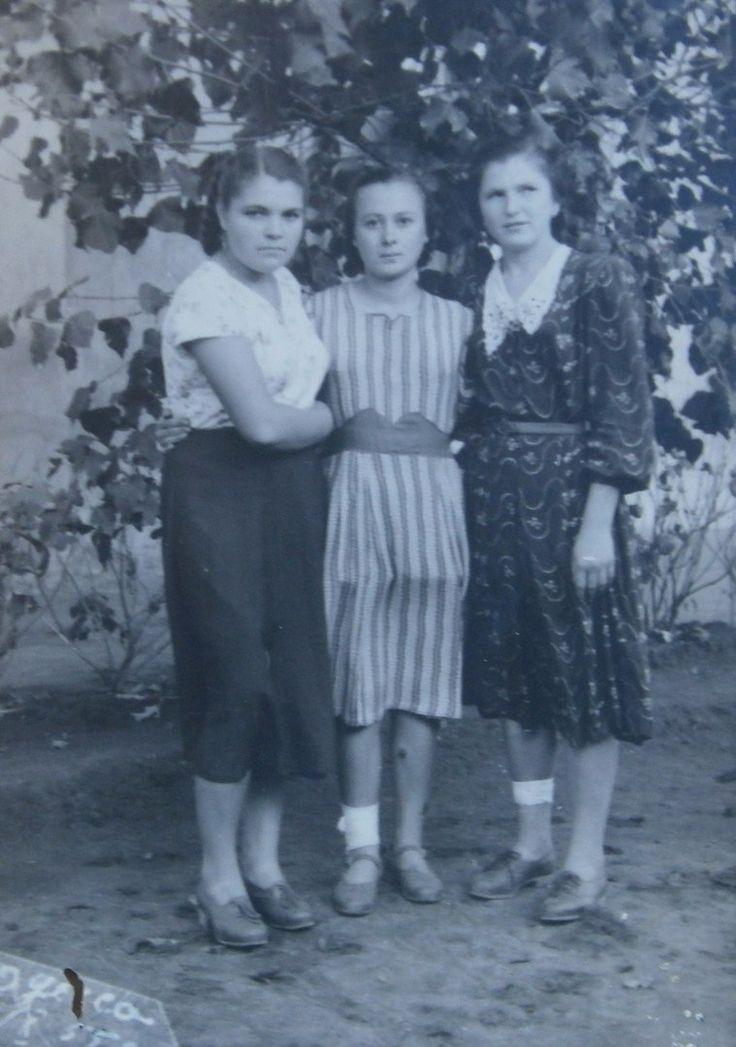 Женская мода 1950-х годов в СССР на фотографиях. 1955