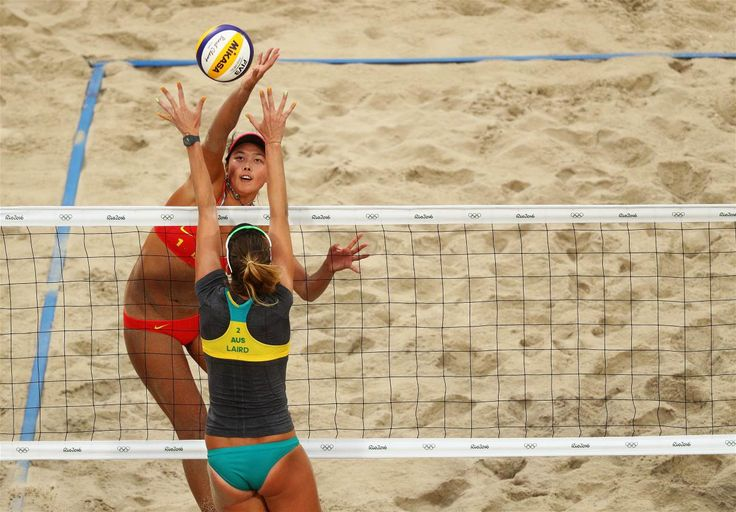 Wang, Fan, Laird, Nicole - Voleibol de playa - China, Australia - Femenino - BVA - Arena de Vóley-Playa