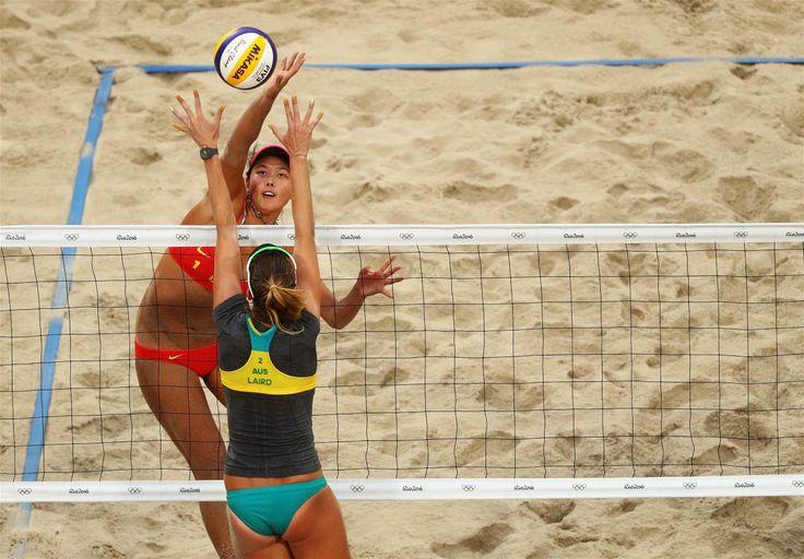 Wang, Fan, Laird, Nicole - Voleibol de playa - China, Australia - Femenino - BVA - Arena de Vóley-Playa