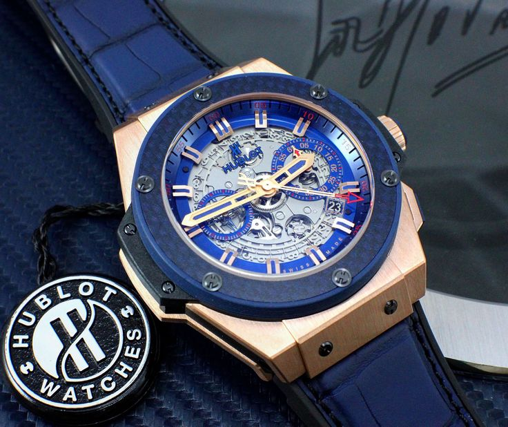 "Limited edition ""Special One"" Hublot Big Bang King Power. Limited to 100 pieces! #Hublot #Bigbang #KingPower #SpecialOne #Swiss #Geneva #Limitededition #Luxury #Collector #Watchporn #Watchlink"