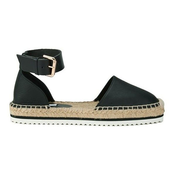 Women's espadrille sandals from Miista with genuine leather upper and classic mule styling.  Set upon a woven jute sole with contrast stitch detail, the 'Cassa…