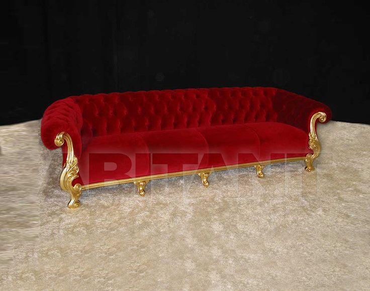 Диван DANIELA красный Orsitalia 281 , каталог мягкой мебели: фото, заказ, доставка - ABITANT , Москва
