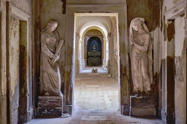 Monumental Cemetery Bologna Italy by Marco Ravenna on 500px