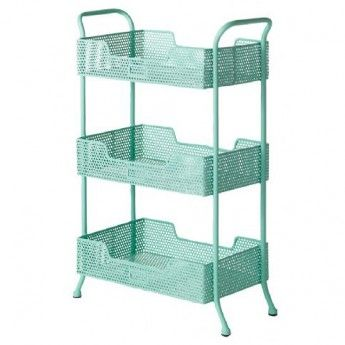 Perforated Metal Trolley (mint)