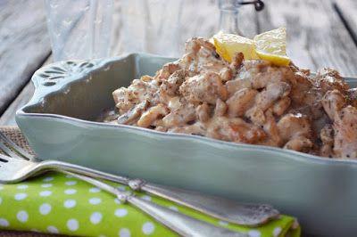 Troll a konyhámban: Mézes mustáros krémes csirkemell gombával- paleo
