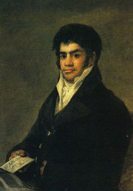 Francisco de Goya. Retrato de Francisco del Mazo