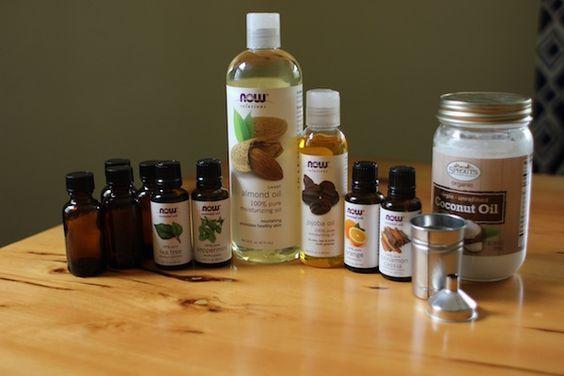Beard oil & balm recipes for the hubs