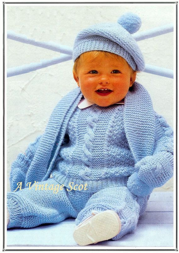 6afe230b4d8e amazing price ee4d1 c2b1d pdf knitting pattern baby boys cable knit ...