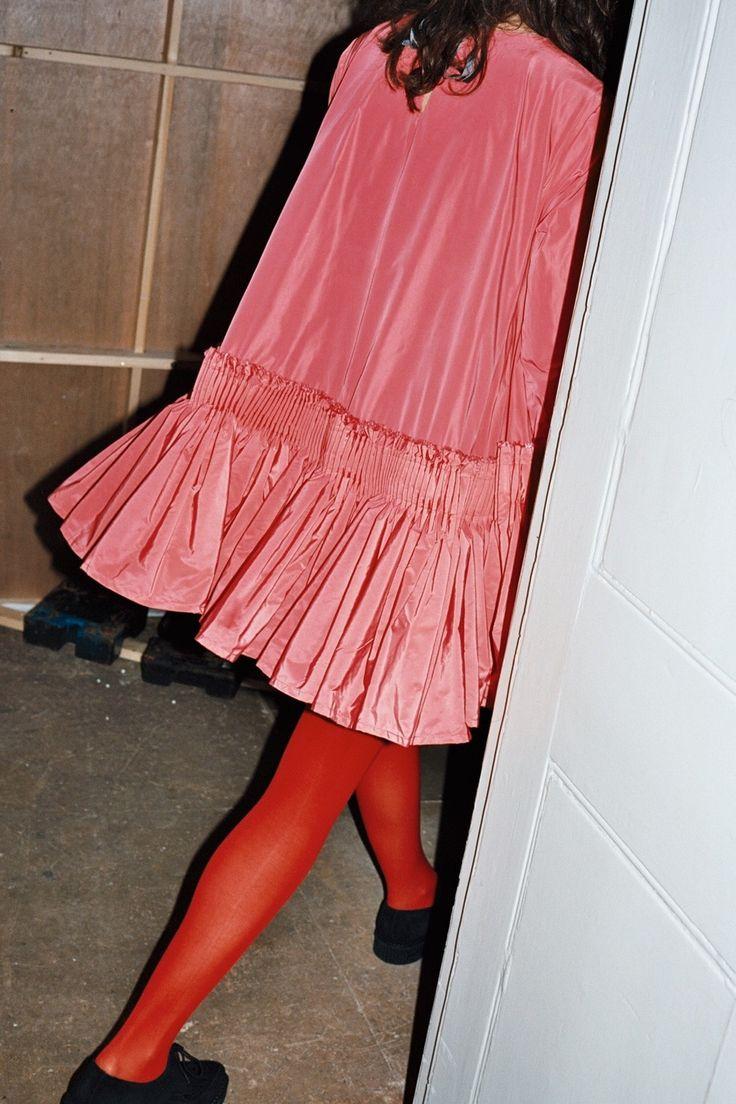 Molly Goddard AW15. Uuuuuuh. Sooooo into this dress. Tights and Oxford so spot on