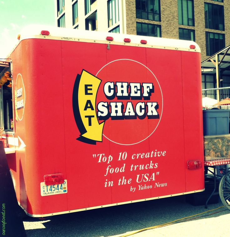 Chef Shack Food Truck at the Mill City Farmer's Market on ourwaytoeat.com
