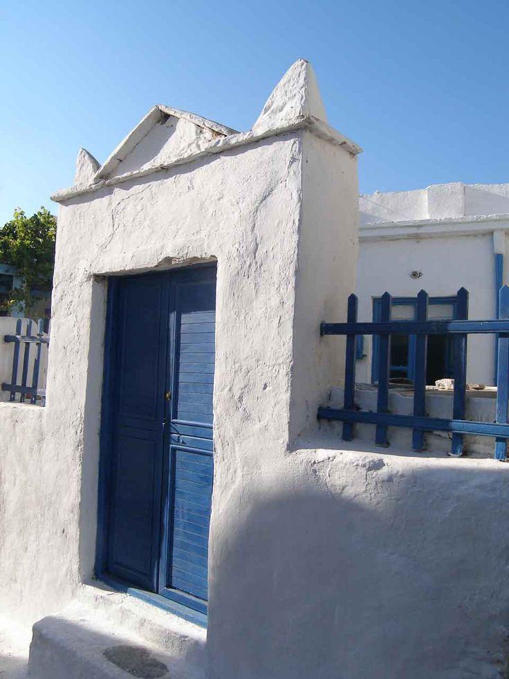 Amorgos House Entrance
