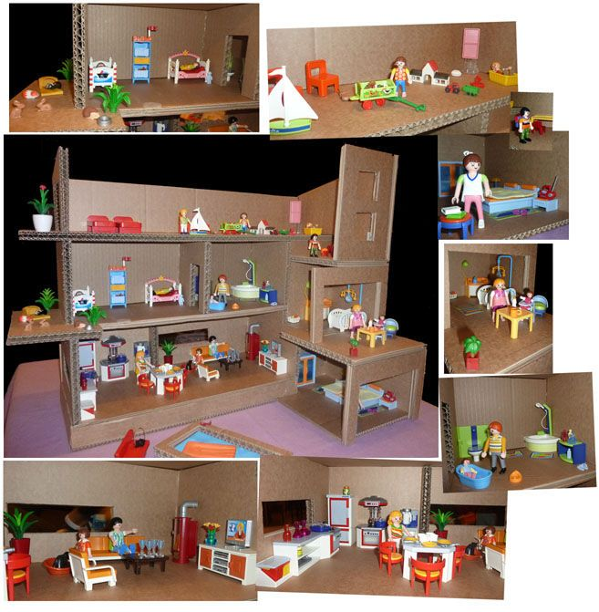 Ma maison playmobil id es pinterest maison playmobil for Decore ma maison