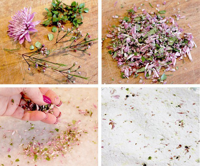 How To Make Beautiful Handmade Paper - One Good Thing by Jillee