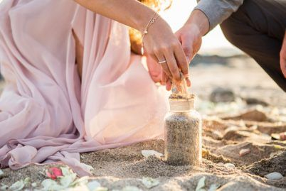 Sunset Beach Elopement - Belle The Magazine