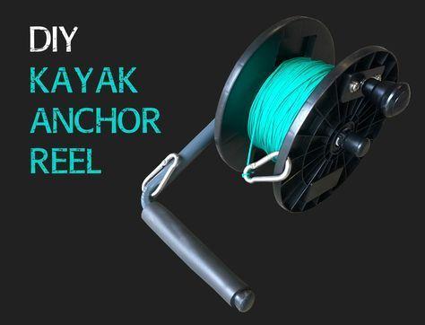 Making a DIY kayak anchor reel